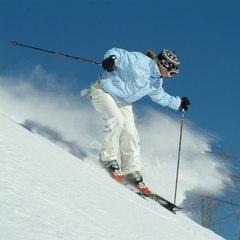 Hunter NY skier