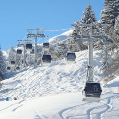 Plattieres cable car at Meribel