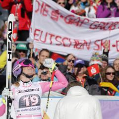 Damen-Weltcup Garmisch 2013 - ©Hook Baderz/AGENCE ZOOM