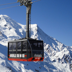 Le tlphrique de l'Aiguille du Midi