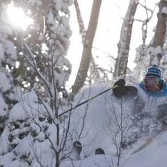 Finding a slice of paradise in the trees at Durango Mountain Resort. 