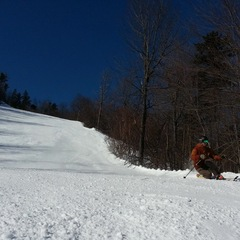 Warmer temperatures and plenty of sunshine made for some spring-like skiing last weekend.