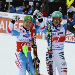 Podium slalom Lenzerheide 2013 - ©Agence Zoom