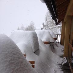 March 18th 2013 snowfall - Saint Véran
