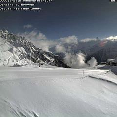 Fresh snow in Chamonix. March 21, 2013