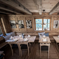 Inside Chez Vrony in Zermatt