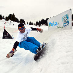 Dupraz Happy End Banked Slalom à Morillon