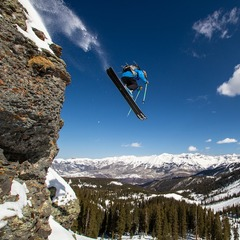 Greg Hope airs it out over Telluride.