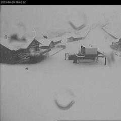 20cm of snow at base of Mt Hutt, NZ at the weekend