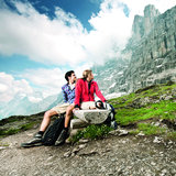 Wandern auf dem Eiger Trail - ©Jungfrau Railways