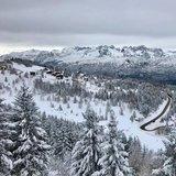 Le ultime nevicate del 2017 in Italia - © Monte Bondone Facebook