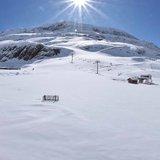 Francja: 14 maja pod śniegiem - © Facebook @alpe.huez