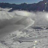 Schneefall Anfang Oktober 2018 - © Facebook Kaunertaler Gletscher