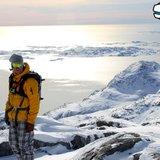 Heliski på Grønland - © Jeppe Hansen, Surfline