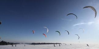 Trendsport Snowkiten - © Papillon Flugschule
