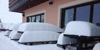 Snehové správy: Skutočne pekná zima je teraz na jar v Alpách ©Facebook Mottolino Fun Mountain