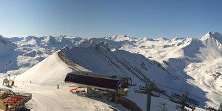 E' iniziata la stagione sciistica estiva in Francia! ©Tignes