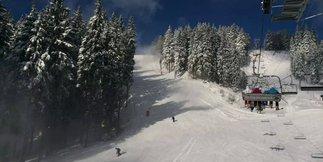 Snehové správy: Silný vietor mieri k nám aj do Álp, prinesie čerstvý sneh ©facebook.com/skikubinska