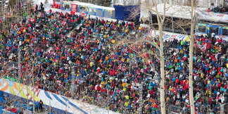 Crowd-Sourced Craziness From the 2015 World Ski Championships ©Liam Doran