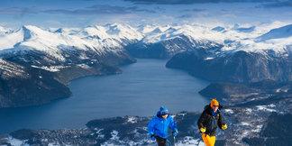Roalden Opp! Ei motbakkeutfordring på ski frå 430-1230 moh ©Ellen Beate Wollen