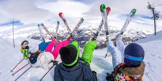 Family ski guide ©Office de Tousrisme de Val d'Allos