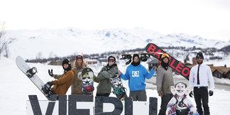 SNOWBOARD PROFFER TIL VIERLI ©Elisabeth Tellefsen, Salgs og Markedssjef Vierli Terrengpark