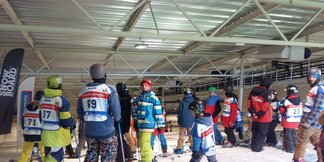 Veel ski- en snowboardtalent tijdens Dutch Cup Big Air Skidôme Rucphen  ©Skidôme Rucphen
