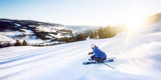 Knallbra forhold i Ål Skisenter - ©Ål Turistinformasjon