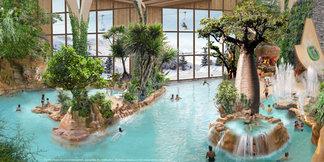L'AQUARIAZ, le nouvel espace aquatique d'Avoriaz ©Pierre et vacances
