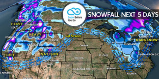 4.6 Snow Before You Go: Large, Powerful Storm ©Meteorologist Chris Tomer