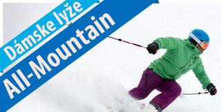 9 dámskych modelov v skiteste All Mountain lyží 2017/2018 ©OnTheSnow