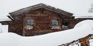 Neve fresca sulle Alpi a fine Ottobre - © Zillertal Arena | Facebook