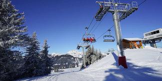 Pré-ouverture du domaine skiable des Gets ©Facebook Les Gets