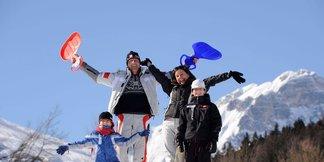 Montagna a misura di bambini: i parco giochi sulla nevi della Paganella ©Ph: Tonina per Visitdolomitipaganella.it