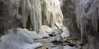 Aanrader: winterse wandeling Partnachklamm ©Martin Wackerzapp
