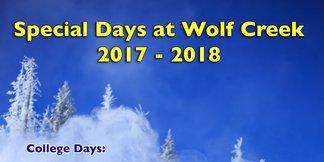 Local Appreciation Day 2/28/18 ©Wolf Creek Ski Area