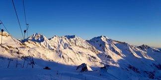 Weerbericht: verse sneeuw voor de Alpen! ©facebook Stubaier Gletscher