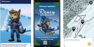 Valmorel lance une application en réalité augmentée pour une piste de luge à Doucy