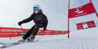 Dans la peau d'un champion de ski lors de l' #EurosportWinterTour by Canal ©D. Malacrida Media