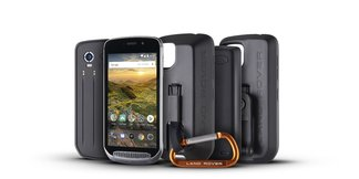 De Land Rover Explore, een nieuwe outdoor-smartphone ©Land Rover Explore/Bullit Group