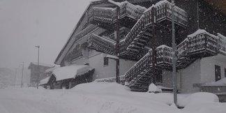 I video dell'eccezionale nevicata a Sestriere ©Ph. Lisetti G.