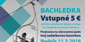Slávnostná rozlúčková jazda lanovkou TS3 ©Bachledka Ski & sun