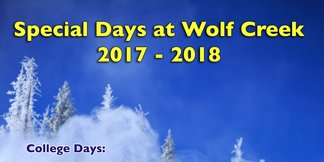 Local Appreciation Day 2/28/18 ©Wolf Creek Ski Area