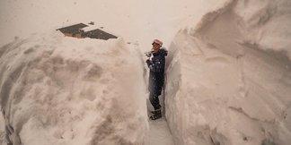 #Foto: 1,5 metra śniegu w 48 godzin! ©Instagramm @factiontignes