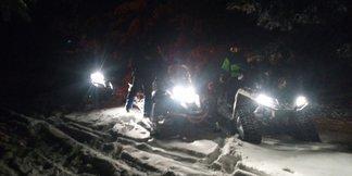 Záchranári pomáhali dvom zablúdeným lyžiarom ©www.hzs.sk