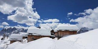 Alpenwetter: Nachschub an Neuschnee für die Alpen, gute Bedingungen zum Saisonende - ©Val di Fassa Facebook