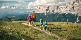 Aktívna dovolenka v Alta Badia: treking, prechádzky, cykloturistika i paragliding ©Molography