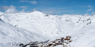 Snowcast for our top 20 ski resorts © Val Thorens/Facebook