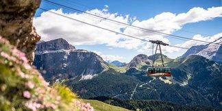 Sei mai stato sulle Dolomiti d'estate? ©Val di Fassa Lift Facebook