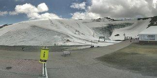 Pas de ski à Toussaint du côté des 2 Alpes ©Webcam station des 2 Alpes